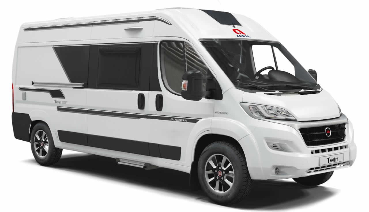 Alquiler furgoneta camper Adria Twin 600 SPB Family Pontevedra - Boa Vila Caravaning