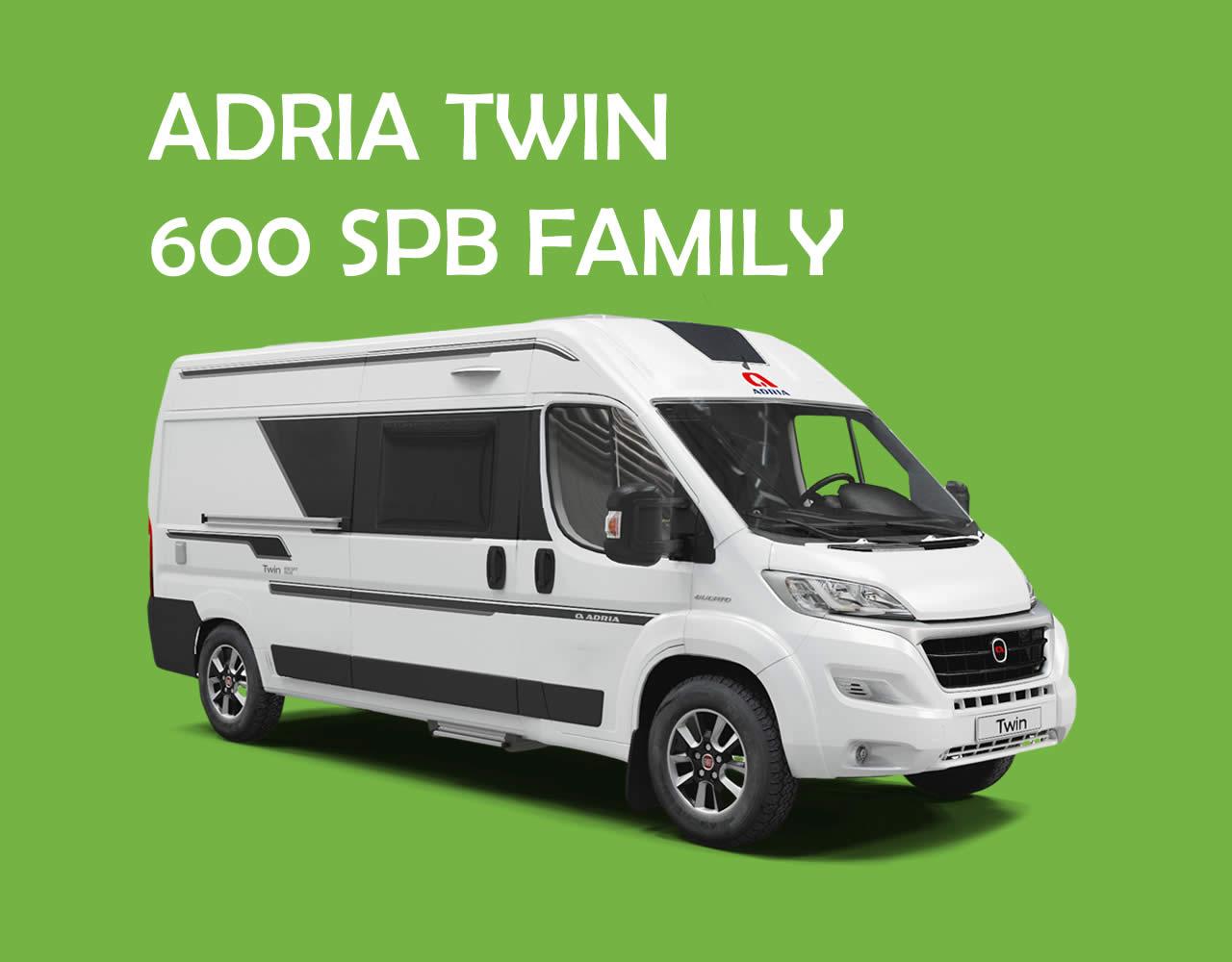Alquilar Furgoneta Camper Adria Twin 600 SPB Family en Pontevedra - Boa Vila Caravaning
